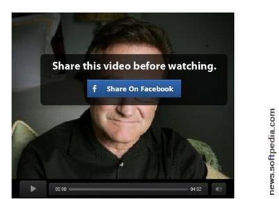 Robin Williams Facebook Scam