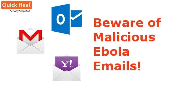 malicious ebola emails