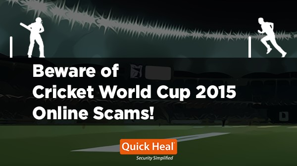 Cricket World Cup 2015 online scams_