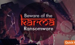 beware of the karma ransomware