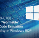 "CVE-2019-0708 – A Critical ""Wormable"" Remote Code Execution Vulnerability in Windows RDP"