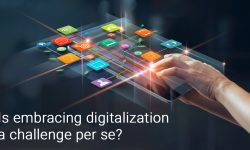 Is embracing digitalization a challenge per se?