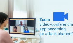 Zoom video-conferencing app becoming an attack channel?