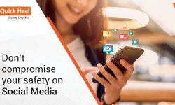Don't compromise your safety on Social Media