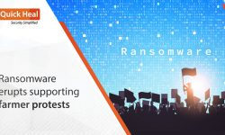 Ransomware erupts supporting farmer protests