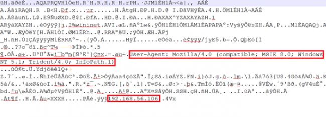 Decrypted data